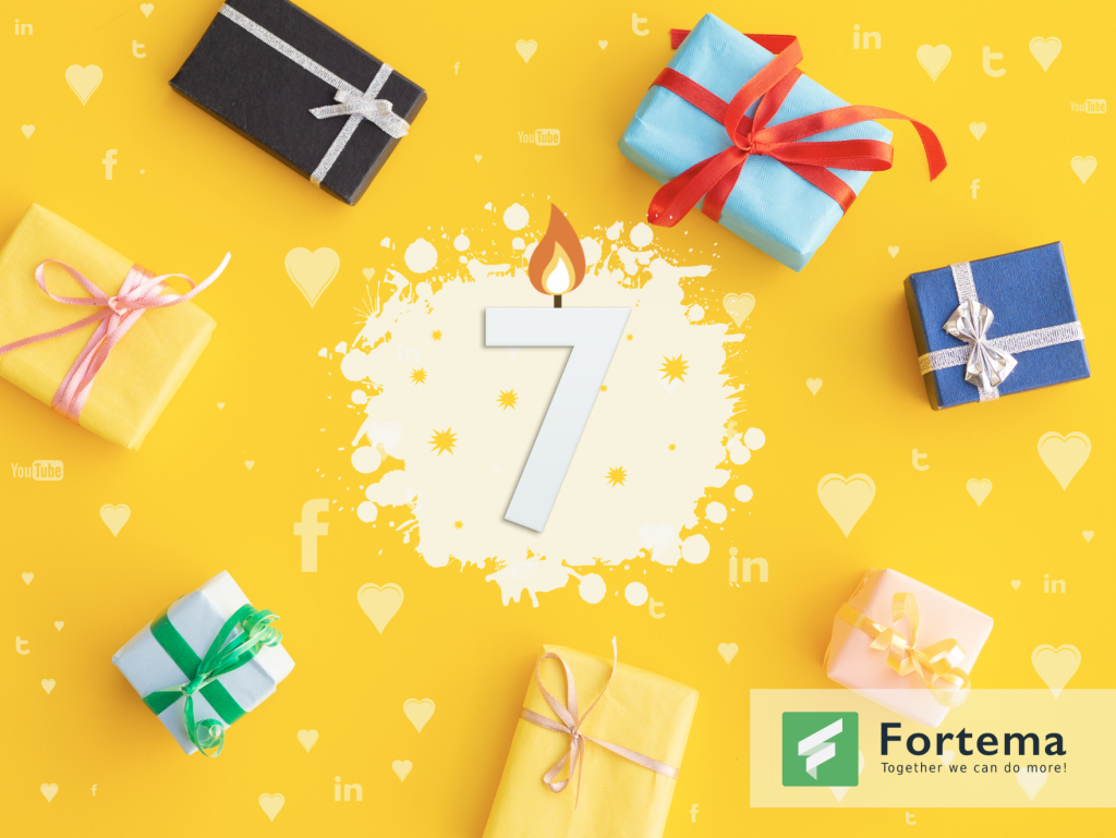 Fortema's 7th birthday!